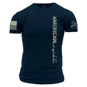 Grunt Style American Infidel Short sleeve Navy T